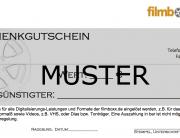 Gutschein Geschenkgutschein Filme Digitalisieren Muster