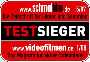Schmalfilm digitalisieren filmboxx.de Testsieger_rot 200